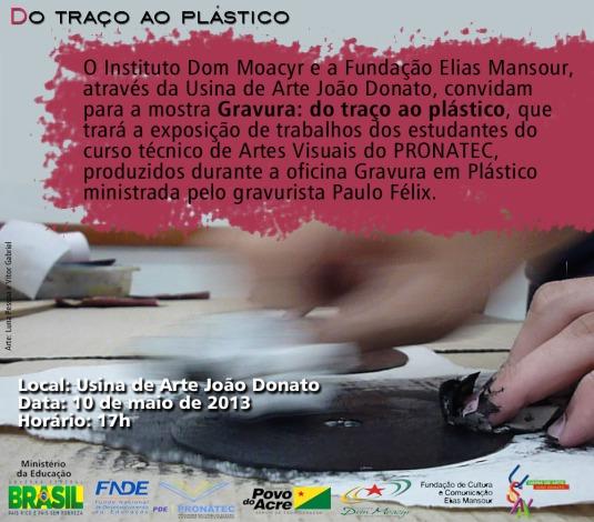 Gravura: do traço ao plástico (convite)