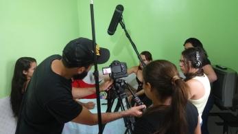 Alunos do Curso Técnico em Produção de Áudio e Vídeo (turma tarde)